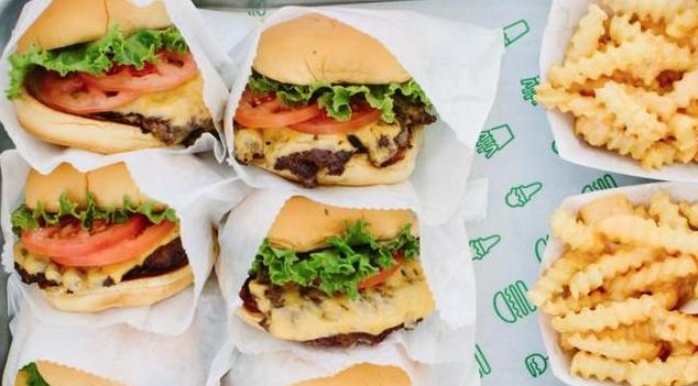 New York burger restaurant Shake shack opens in Shanghai, China