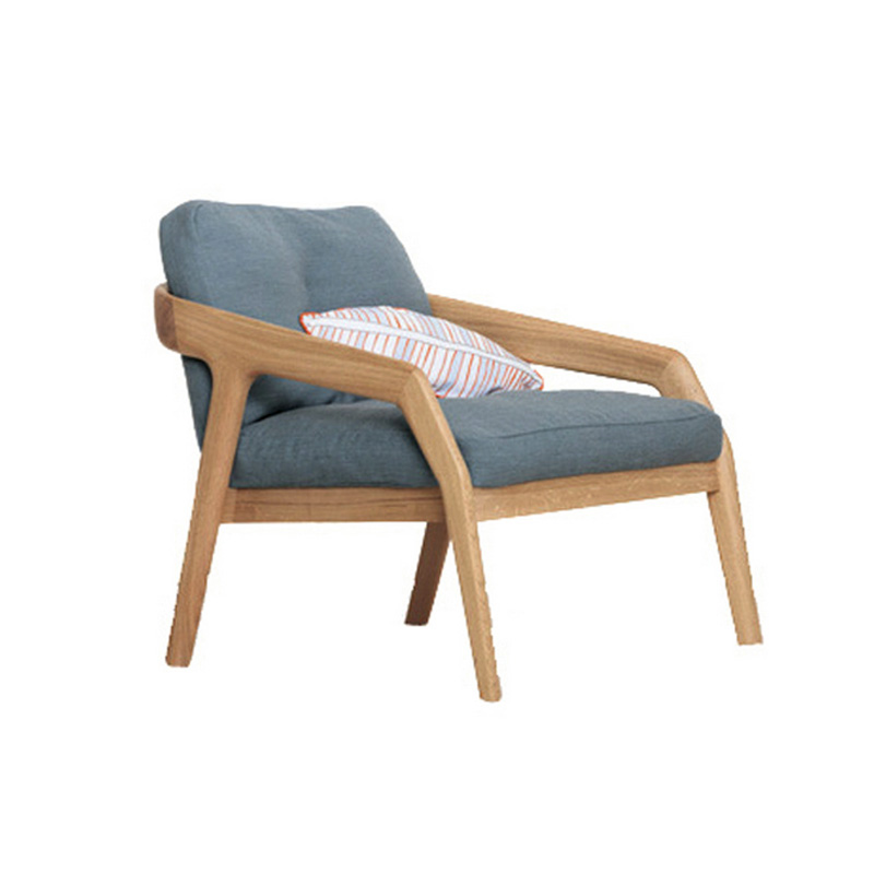 Casual solid wood chair