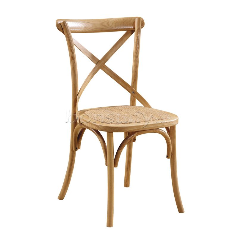 Forked back chair