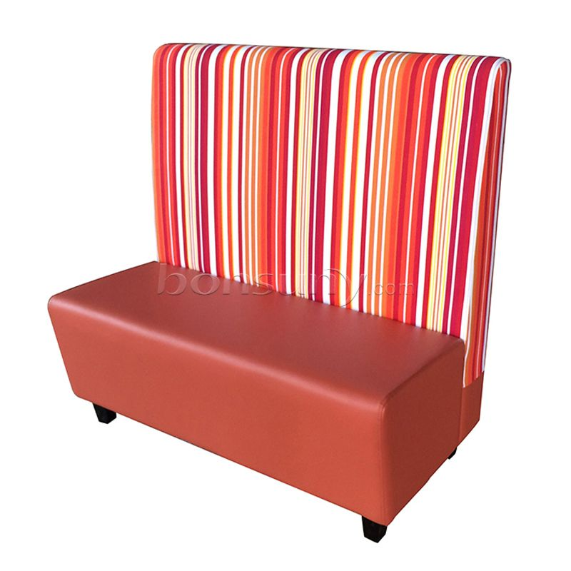 Burger shop sofa