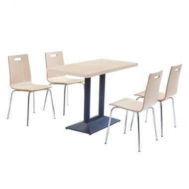 Fast food  tables and chairs