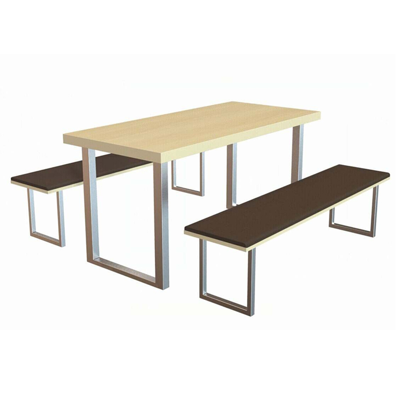 Canteen long table and chair