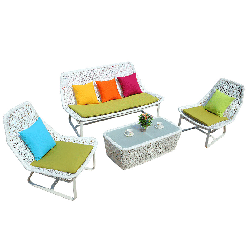 Outdoor rattan garden furniture