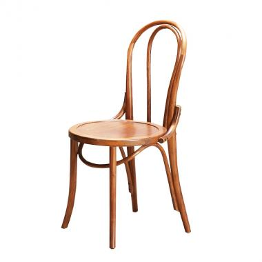 Solid wood round chair