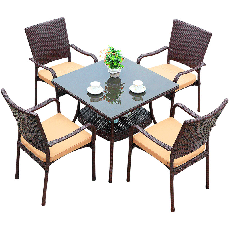 Outdoor garden table and chairs