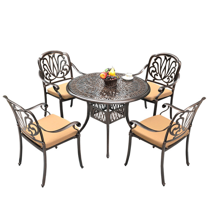 Outdoor metal furniture