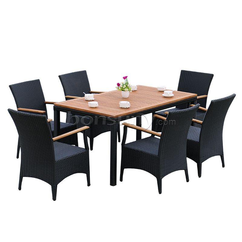 Restaurant leisure outdoor table and chairs