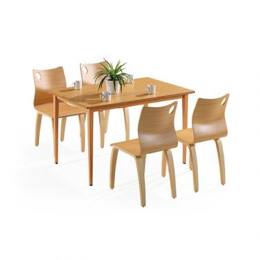 Canteen dining table and chairs